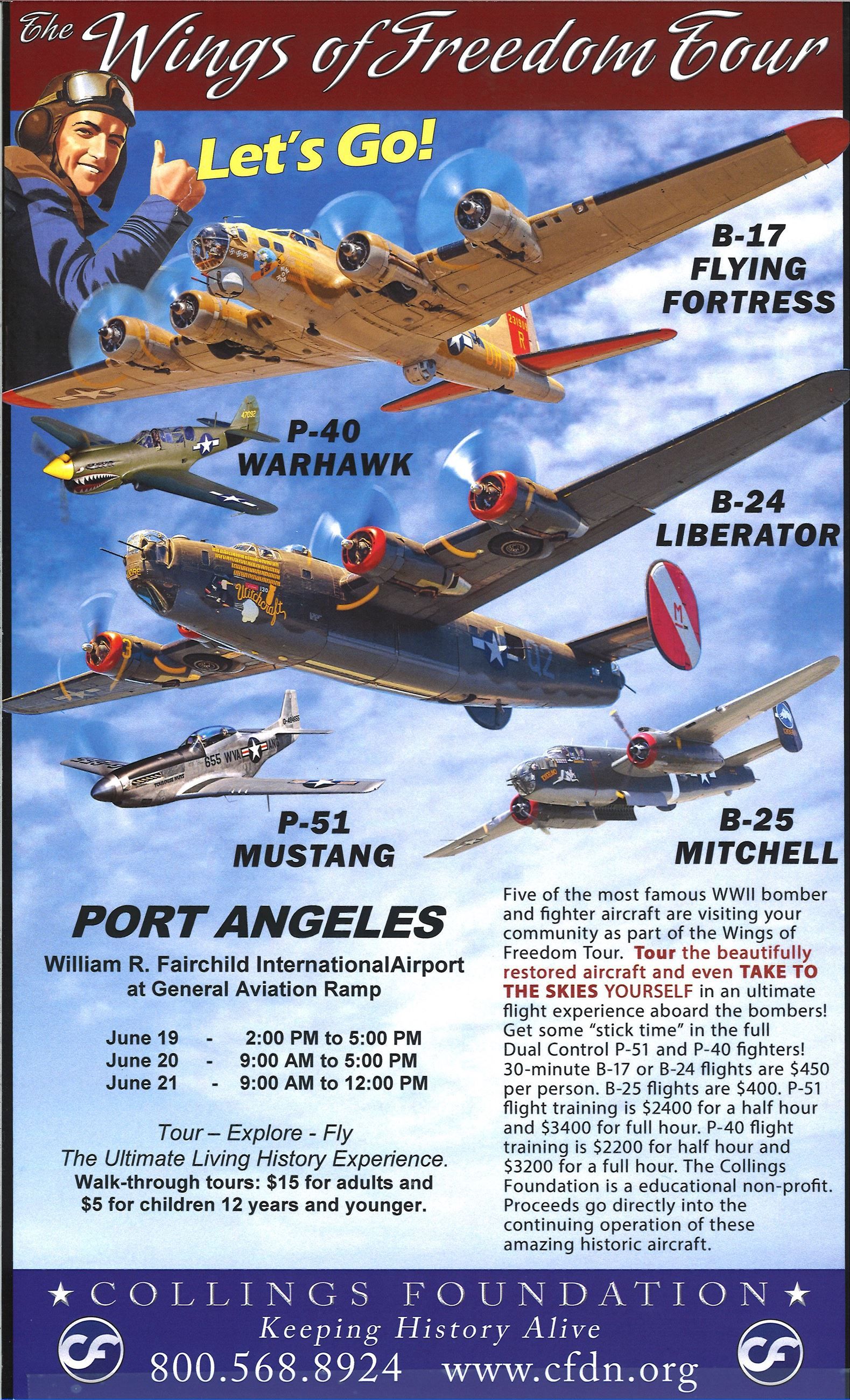 2019 Wings of Freedom Flyer