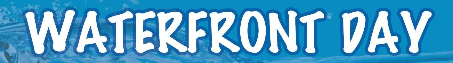 Waterfront Day banner for website