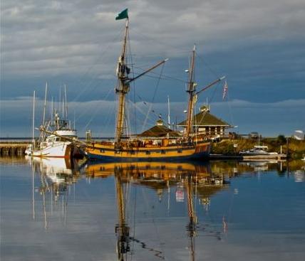 Sail boat at PABH